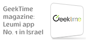 GeekTime Magazine: Leumi Mobile app No. 1 in Israel,