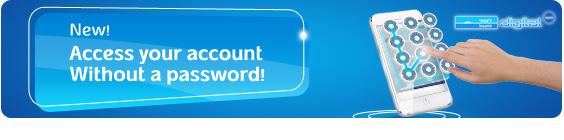 Access your account without a password!